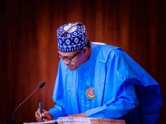 BREAKING: Buhari Signs 2021 Budget