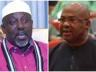 Video Evidence Shows Okorocha Was Attacked By Uzodimma's Men