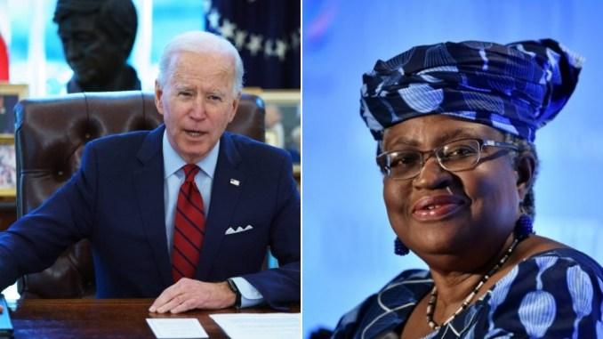 US Officially Backs Okonjo-Iweala To Lead The WTO