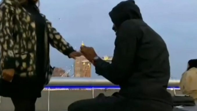 Ikechukwu Proposed To His Girlfriend In London