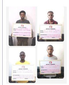 EFCC Arrests 27 Suspected Yahoo Boys In Lagos-Photos