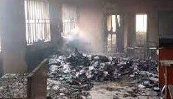 Hoodlums Set Court On Fire In Ebonyi