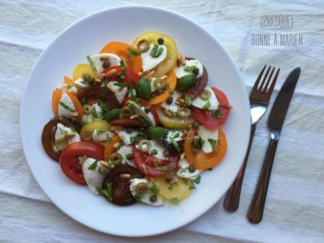 Ma salade caprese