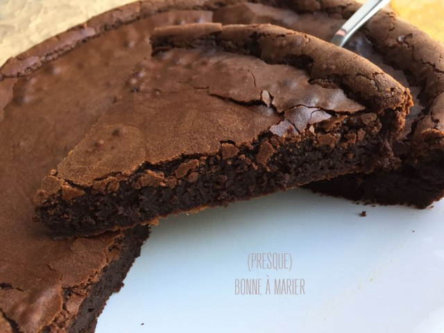 Mon incontournable gâteau au chocolat