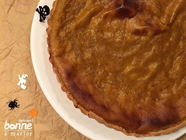Pumpkin pie ou tarte au potiron