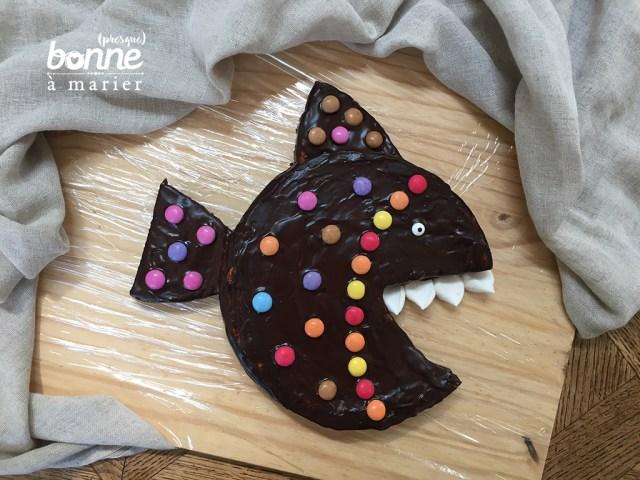 Piranhacake gâteau poisson au chocolat