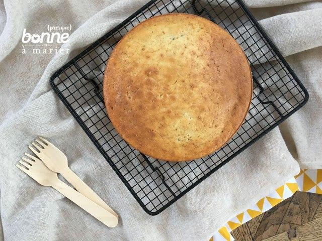 Gâteau aux bananes sans matière grasse
