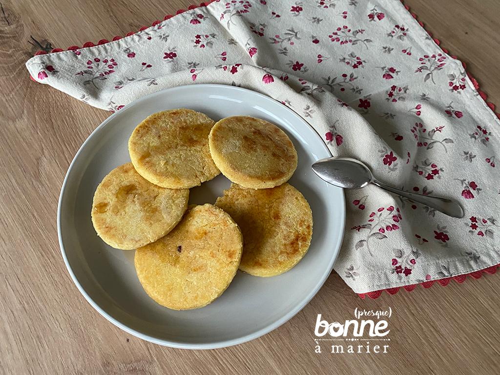 Harcha galettes marocaines de semoule au miel