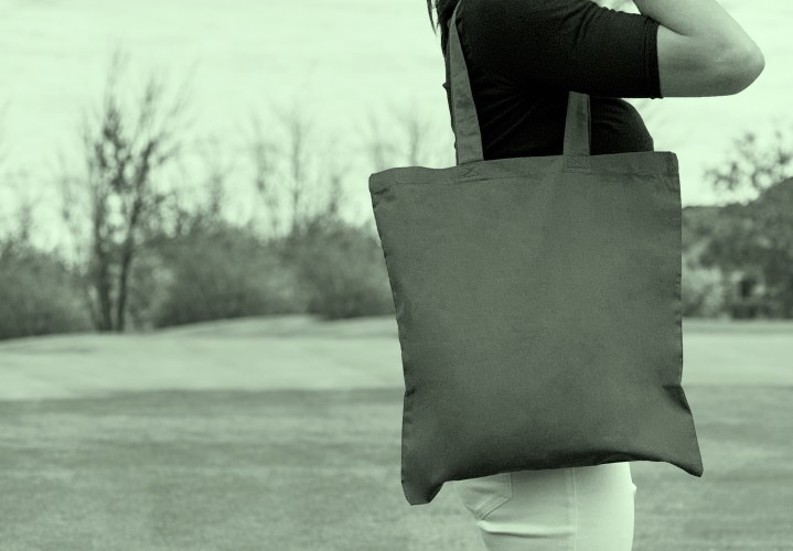 GOODBYE SINGLE-USE PLASTIC BAGS, HELLO TOTE BAGS!