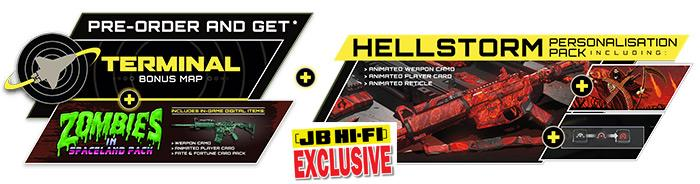 JB exclusive extra DLC