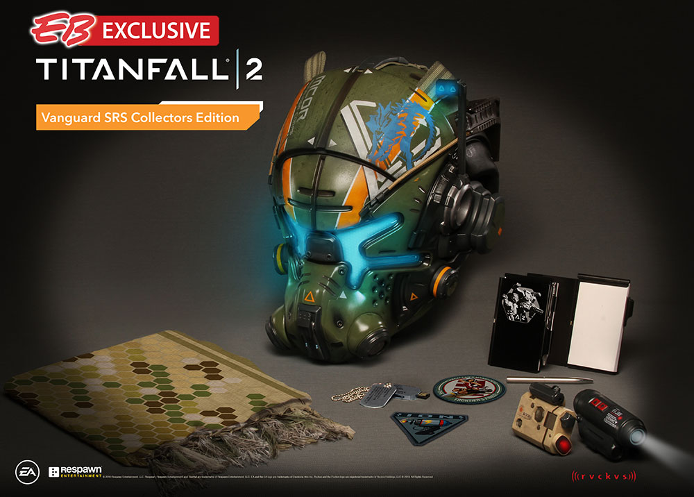 Titanfall 2 Vanguard SRS Collector's Edition