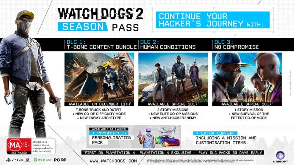 WD2 Season Pass