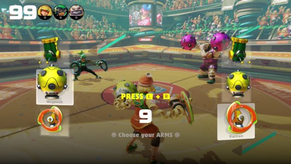 The UI menus are easy to use and add the slick style of ARMs.