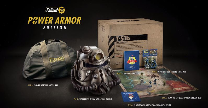 You Can Get Your Own Freaking Power Helmet In Fallout 76s