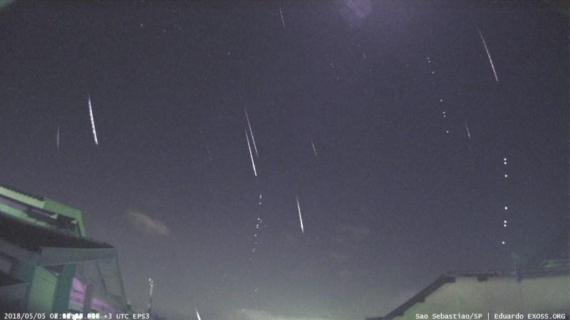 meteoros eta aquariids
