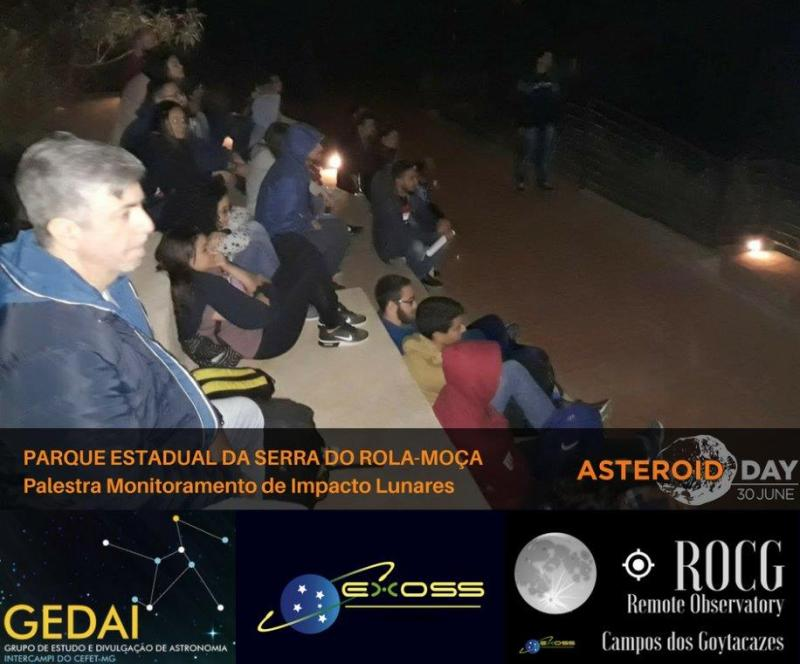 gedai contagem asteroid day 4