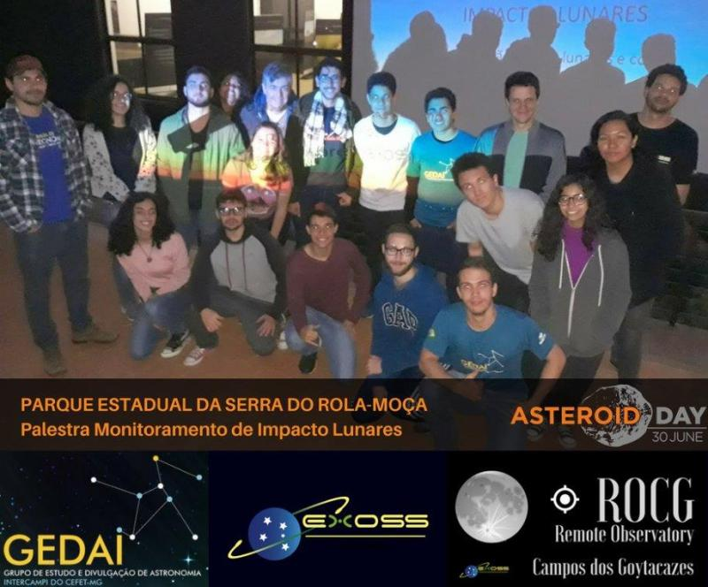 gedai contagem asteroid day 7