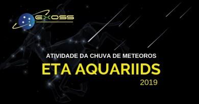 Chuva de meteoros Eta Aquariids 2019