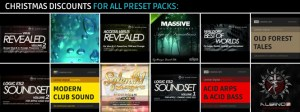 Discounts for all preset packs