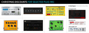 Discounts for selected plug-ins