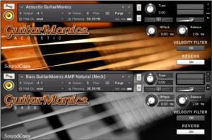guitarmonics