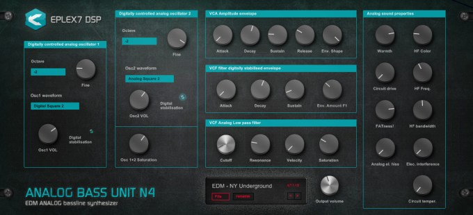 Analog-Bass-Unit-N4