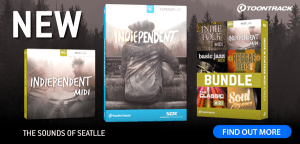 Toontrack bring you the sounds of Seattle