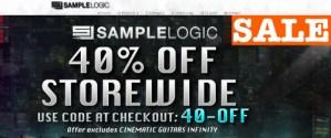 Sample Logic 40% OFF STOREWIDE