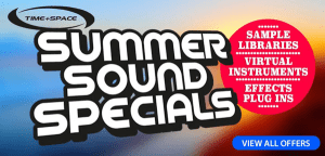 Time+Space's Summer Sound Specials