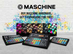 Native Instruments launches MASCHINE Sales Special