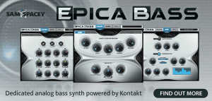 Sam Spacey and Time+Space announce Epica Bass