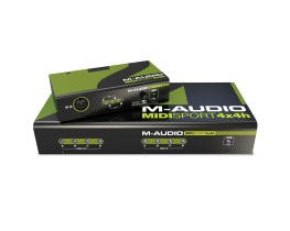 M-AUDIO Releases new MIDISport with integrated powered USB 3.0 Hub