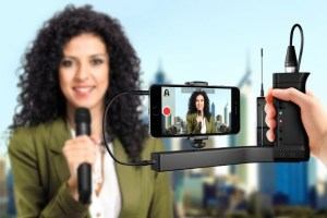 IK Multimedia premiers iKlip A/V smartphone broadcast mount for professional mobile audio and video