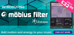 IZotope release Mobius Filter effect plug-in