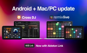 Mixvibes announces cross-platform Ableton Link integration for Cross DJ & Remixlive
