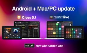 Mixvibes announces cross-platform Ableton Link integration for Cross DJ & Remixlive