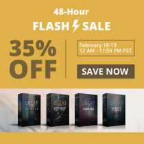 Flash Sale: 35% OFF uBEAT Bundle and uBEAT Single Editions