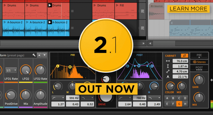 Bitwig Studio 2.1 is available now