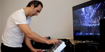 Alexandre Desplat using MatrixBrute On The Valerian Soundtrack