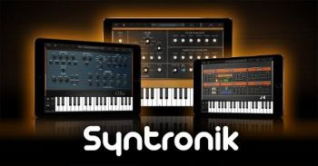 IK's Syntronik for iPad is now available on the App Store