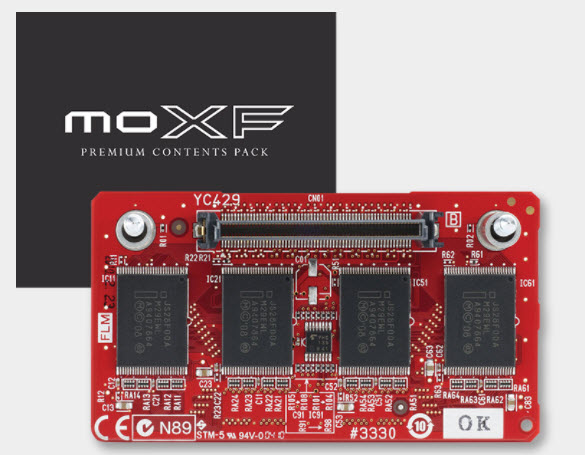 Yamaha Announces Free Flash Memory and Sound Expansion for MOXF