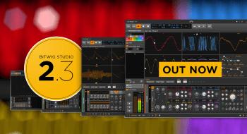 Launch of Bitwig Studio 2.3