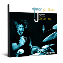 Steinberg Launches Simon Phillips Jazz Drums Content Library