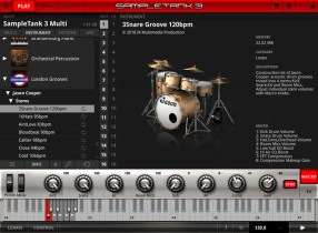 IK Multimedia debuts London Grooves acoustic drum kit instrument collection