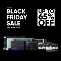 Accusonus Black Friday Sale 2018 – up to 65% off