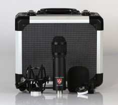 "Lauten Audio Ships New ""LS-208"" Microphone for Broadcast, Live Sound, and Studio Recording"