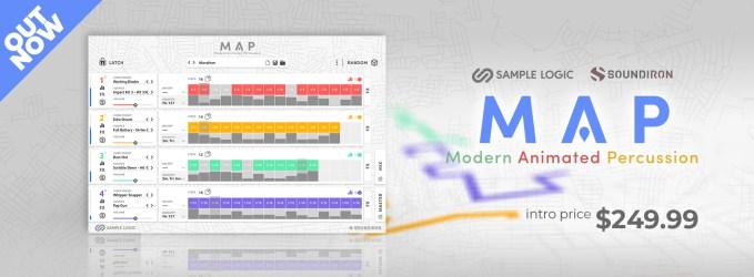 Sample Logic & Soundiron Release Modern Animated Percussion