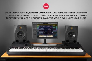 EastWest offers 10,000 Free ComposerCloud Subscriptions for Students Stuck at Home!