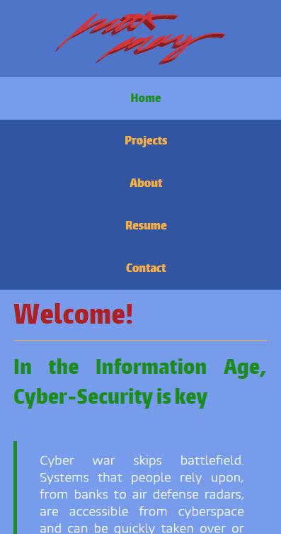 Personal Technology Website