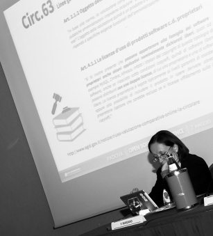 Flavia Marzano Circ.63 Open Source Conference Padova2014